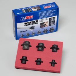 50 Units of 6 Piece Metric Hex Wrench Connectors 8 Mm - 19 Mm - Wrenches