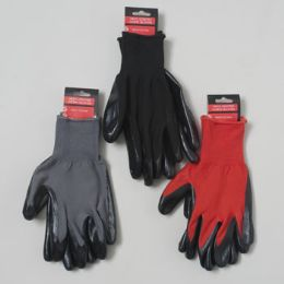 48 Units of Nitrile Coated Work Gloves - Working Gloves