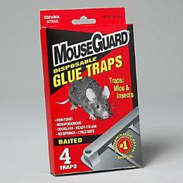 96 Units of Mouse Glue Traps 4 Pk - Pest Control