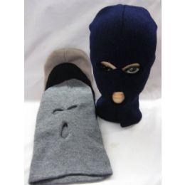 48 Units of Unisex Winter Ski Mask Assorted Colors - Unisex Ski Masks
