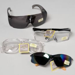 72 Units of Safety Glasses In 72 Ct Floor Display - Safety Helmets