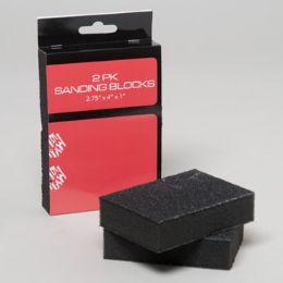 96 Units of Sanding Block 2pk 2.75x4x1 Hardware Sleeve - Padlocks and Combination Locks