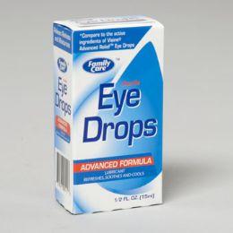 96 Units of Eye Drops .5 Oz Advanced Formula - Eyeglass & Sunglass Cases