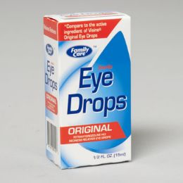 96 Units of Eye Drops .5 Oz Original - Eyeglass & Sunglass Cases