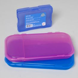 Plastics Assorted In Gaylord 548 PcsPENCIL/SUPPLY CASE - Pencil Boxes & Pouches
