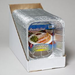 80 Units of Aluminum Deep Roaster Over 4 Inch Diameter For Ham,chicken Roasts - Aluminum Pans