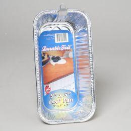12 Units of Aluminum Loaf Pan 2 Pack - Aluminum Pans