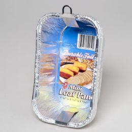 96 Units of Aluminum Loaf Pan Mini 5 Pack - Kitchen Trays