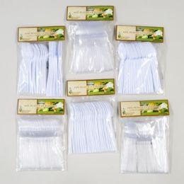 72 Units of Cutlery Plastic - Disposable Cutlery