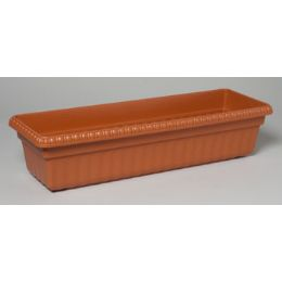 12 Units of Planter Rectangular Window #winny 1164 No Holes 24.75 X 8.25 X 5.75 - Garden Planters and Pots