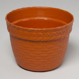 96 Units of Round Planter Weave Design - Garden Planters and Pots