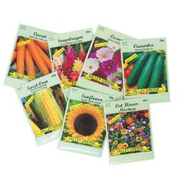 Seed Shipper 1200pc Asst Veg/ Flowers Valley Green Approx 60% Veg And 40% Flowers - Garden Tools