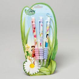 96 Units of Pencils 3 Pk Mechanical Disney Tinkerbell - Licensed School Supplies