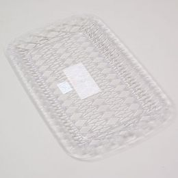 96 Units of Serving Tray Rectangular Clear - Serving Trays
