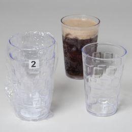 96 Units of Tumblers Glass-look Clear 2pk 18 Oz - Plastic Drinkware