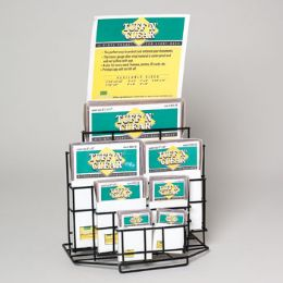 2 Units of Document Protector/vinyl Asst Sizes In 175pc Display - School Supply Kits