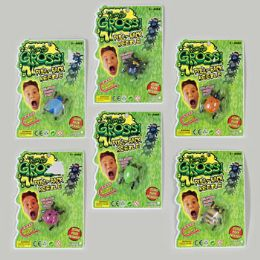 144 Units of Beetle Bug Pull Back 6asst Bug Styles/colors - Animals & Reptiles