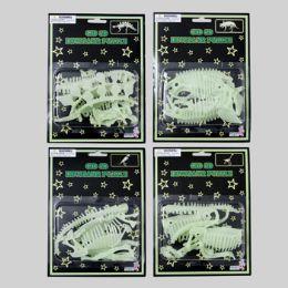 96 Units of Puzzle 3d Dinosaur Glow In Dark - Crosswords, Dictionaries, Puzzle books