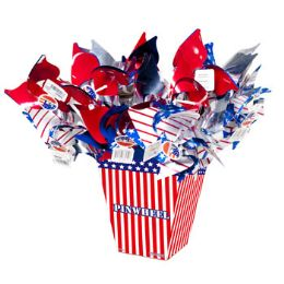 108 Units of 17 Inch Patriotic Pinwheel - 4th Of July