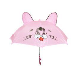 36 Units of Children Cat Design Umbrella - Umbrellas & Rain Gear