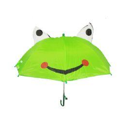 48 Units of Children Umbrella Frog With A Whistle - Umbrellas & Rain Gear