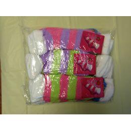 120 Units of Woman Fuzzy Sock Size 9-11 - Womens Fuzzy Socks