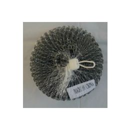 144 Units of 2pc stainless scourer - Scouring Pads & Sponges