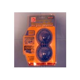 60 Units of 2pc Dryer Balls, - Laundry  Supplies