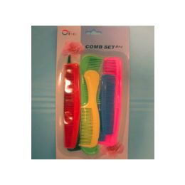 144 Units of Comb set, - Hair Brushes & Combs