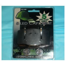 84 Units of 5LED cap light, - Lightbulbs