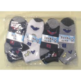 360 Units of CHILDREN'S ANKLE SOCKS SIZE:4-6 - Boys Ankle Sock