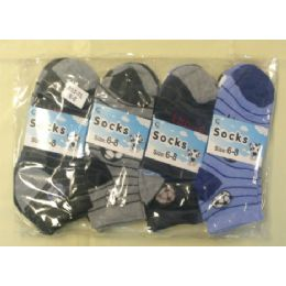 360 Units of CHILDREN'S ANKLE SOCKS SIZE:6-8 - Boys Ankle Sock