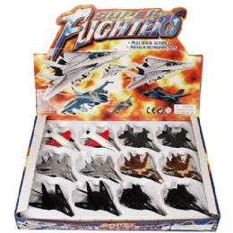 24 Units of DiE-Cast Super Fighters - Action Figures & Robots