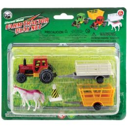 72 Units of Die Cast Farm Set - Action Figures & Robots