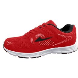 12 Units of Mens Sneakers in Red And Black - Men's Sneakers