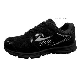 12 Units of Mens Sneakers In Black - Men's Sneakers