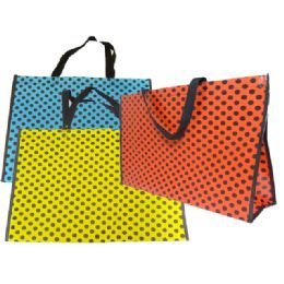 144 Units of Bag Small Polk Dot 50*38*15cm Packing 1/pc - Bags Of All Types