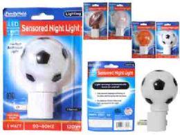 96 Units of Led Night Light 4asst Design Blist - Night Lights