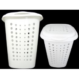 12 Units of Lundry Basket W/cover 46.5*41.7*5.28cm - Laundry  Supplies
