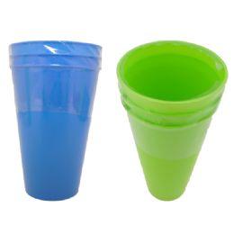 """96 Units of Tumbler 3pc 3.7""""Dia*6.7"""" - Plastic Drinkware"""