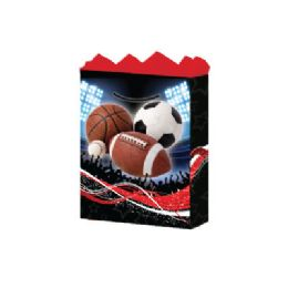 144 Units of GifT-Bag Large Gls Pro Sports 1 Style - Gift Bags