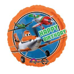 100 Units of AG 18 LC Disney Planes H B-Day - Balloons/Balloon Holder