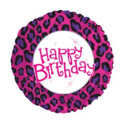100 Units of CT 17 DS Birthday Animal Print