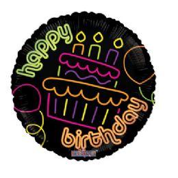 100 Units of CV 18 DS B-D Cupcake Neon GeliBn - Balloons/Balloon Holder