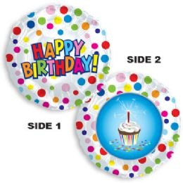 100 Units of CT 17 DS Happy Birthday Treat - Balloons/Balloon Holder