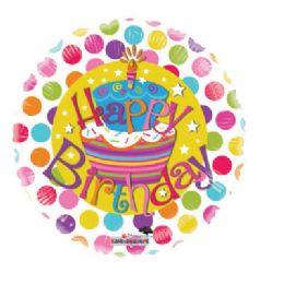 100 Units of CV 18 DV HBD Cake Gelli Beans - Balloons/Balloon Holder