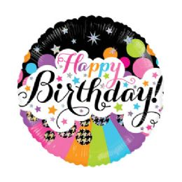 100 Units of CV 18 DS Birthday Little Stars Holo - Balloons/Balloon Holder