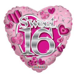 100 Units of CV 18 DS Sweet 16th Pink