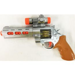 24 Units of Light Up Flashing Toy Gun - Light Up Toys