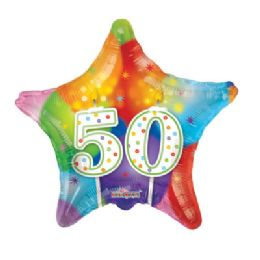 100 Units of CV 18 DV Candles #50 Star - Balloons/Balloon Holder
